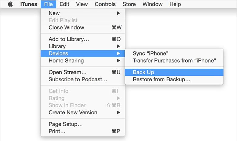 Một số lưu ý cần nên biết trước khi chạy lại chương trình iPhone lên iTunes