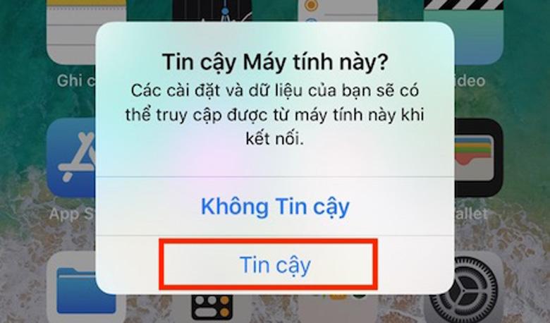 Cách chạy lại chương trình iPhone qua iTunes