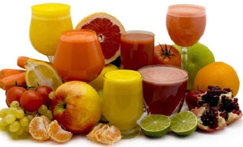 Các loại hoa quả có thể ép lấy những ly nước nguyên chất