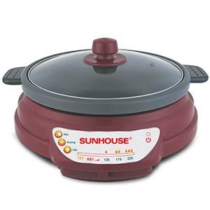 Lẩu điện Sunhouse SH535L đỏ