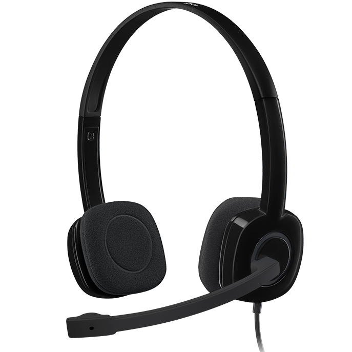 Tai nghe Logitech có mic H151 Black
