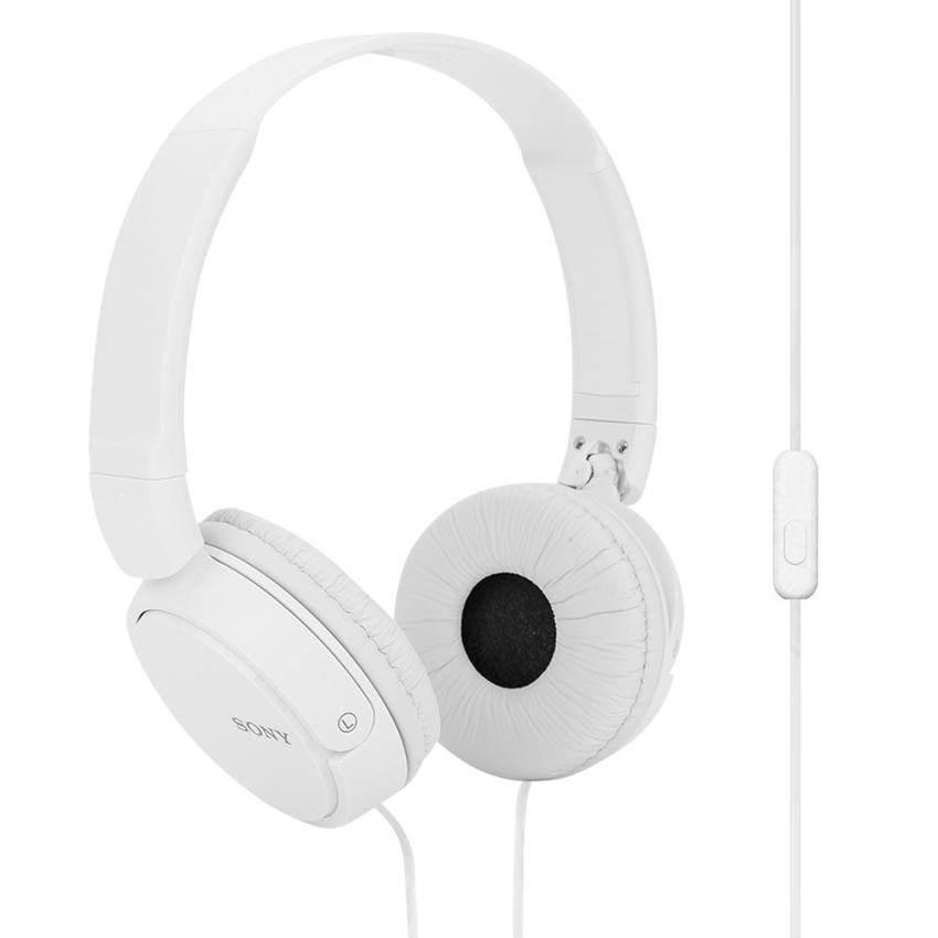 """Tai nghe Sony chụp tai có mic MDRZX310APWCE-trắng"""""""