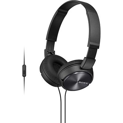 Tai nghe Sony chụp tai có mic MDRZX310APBCE-đen