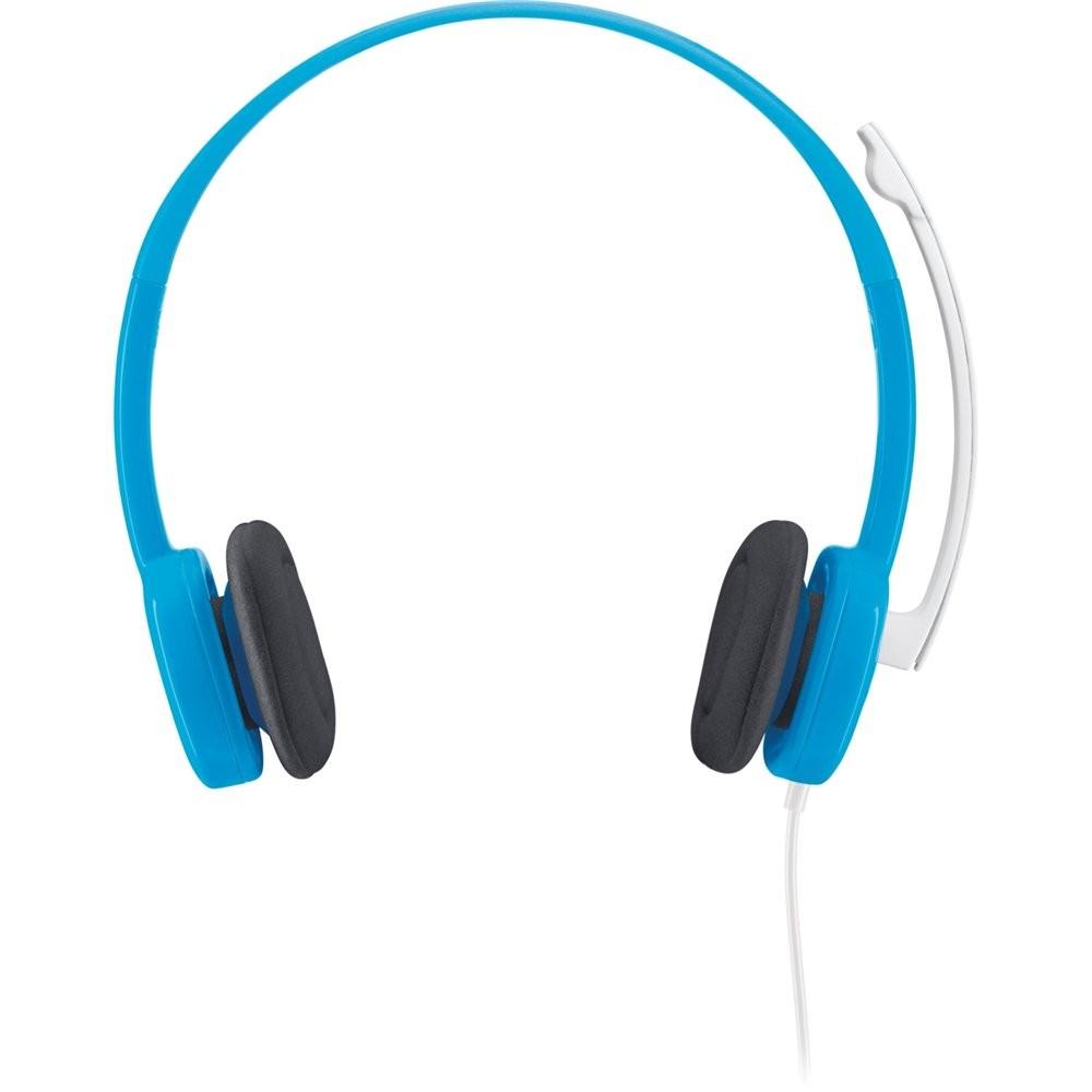 Tai nghe có mic Logitech H150-Blue