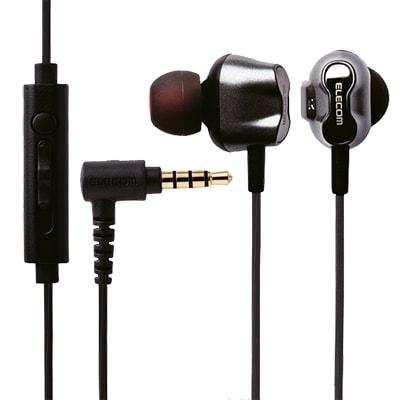 Tai nghe Elecom nhét tai có mic EHP-CS2D3510BK
