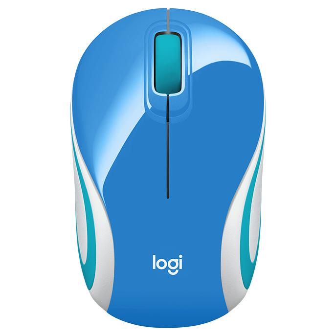 Chuột không dây Logitech M187 Blue