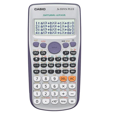 Máy tính điện tử khoa học Casio FX570VNPLUS