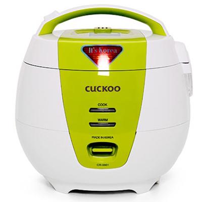 Nồi cơm điện Cuckoo 1.0L màu xanh CR-0661-G