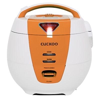Nồi cơm điện Cuckoo 1.0L màu cam CR-0661-O