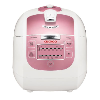 Nồi áp suất điện tử Cuckoo 1.8L màu hồng CRP-G1015M-P