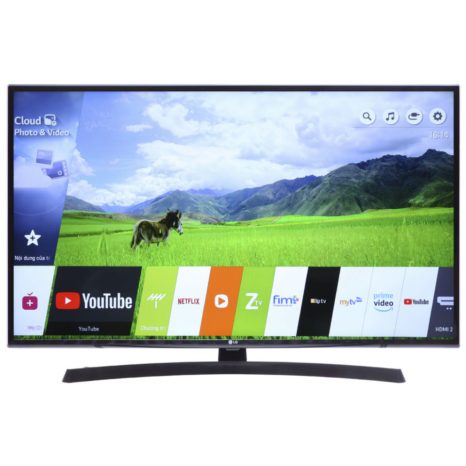 Smart Tivi LG 4K 55 inch 55UK6340PTF