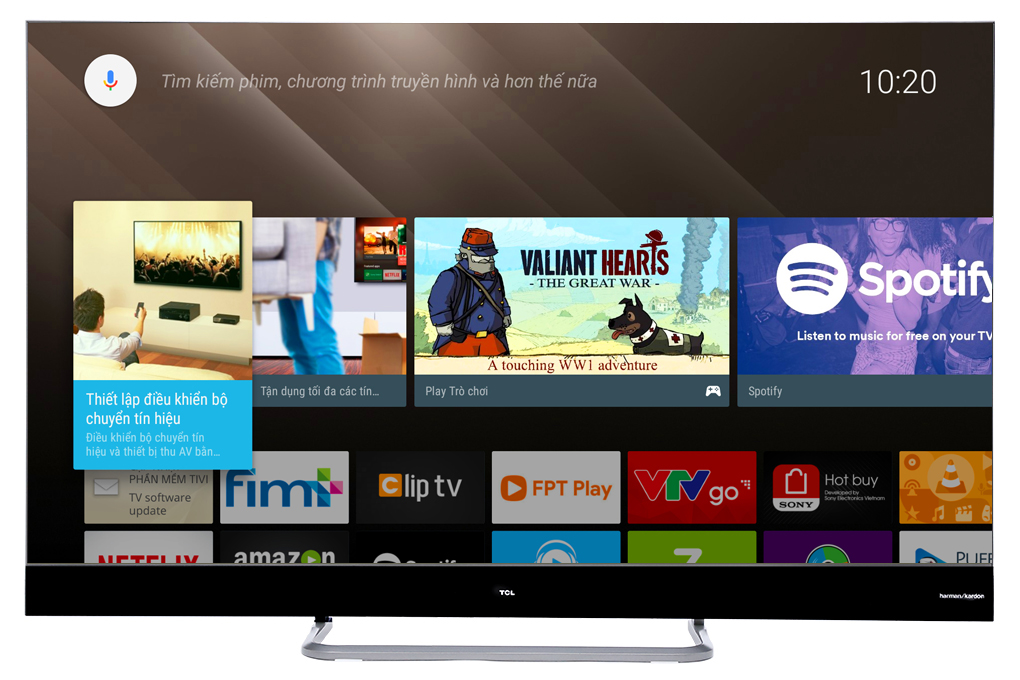 Android Tivi QLED TCL 4K 55 inch L55X4