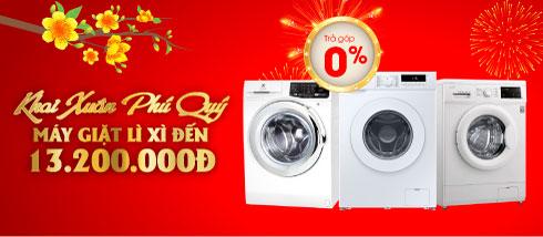 Máy giặt LG chính hãng, giá rẻ, trả góp 0% tại Điện máy HC