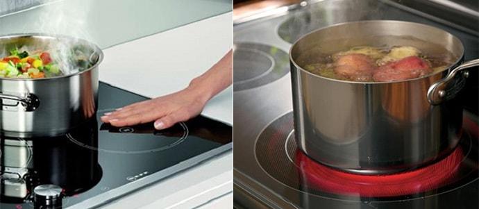 [Nhận biết] Bếp hồng ngoại và bếp từ khác nhau như thế nào?