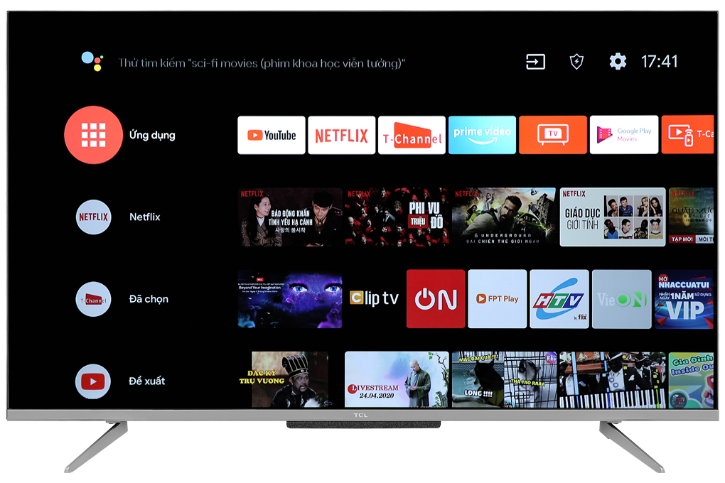 Android Tivi TCL 4K 43 inch 43P715