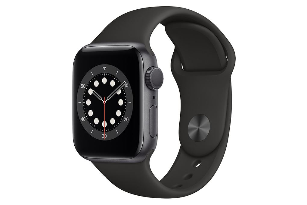Đồng hồ Apple Watch Series 6 GPS 40mm Space Gray Aluminium Case with Black Sport Band MG133VN/A - Hàng chính hãng