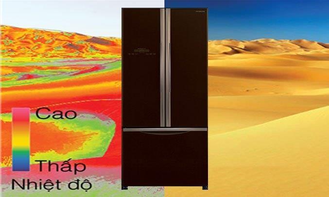 Tủ lạnh Hitachi Inverter 456 lít R-FWB475PGV2