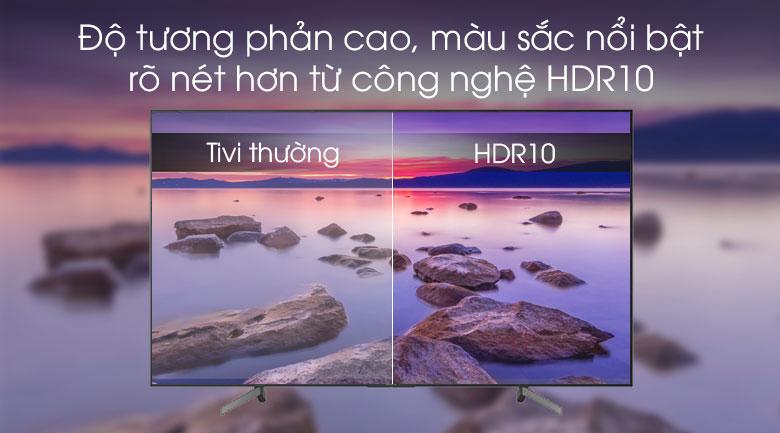 Tivi Sony 55X7000G công nghệ HDR10