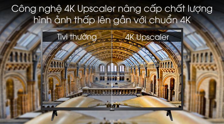 Tivi LG 43UM7300PTA công nghệ 4K Upscaler
