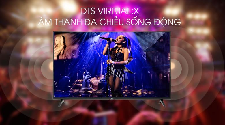 Tivi LG 43UM7300PTA công nghệ DTS Virtual:X