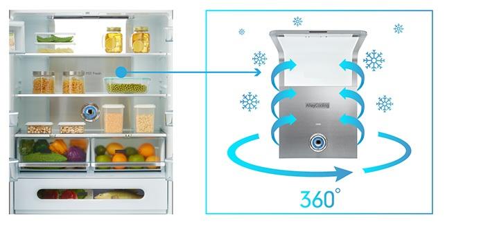 Tủ lạnh Toshiba Inverter 500 lít GR-RF532WE-PGV