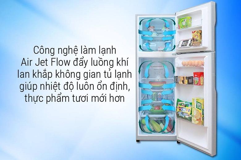 công nghê làm lạnh-tủ lạnh Hitachi H350PGV7(BSL)