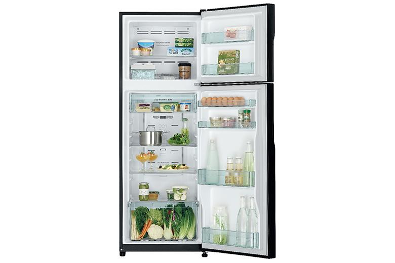 khay kính chịu lực-tủ lạnh Hitachi H350PGV7(BSL)