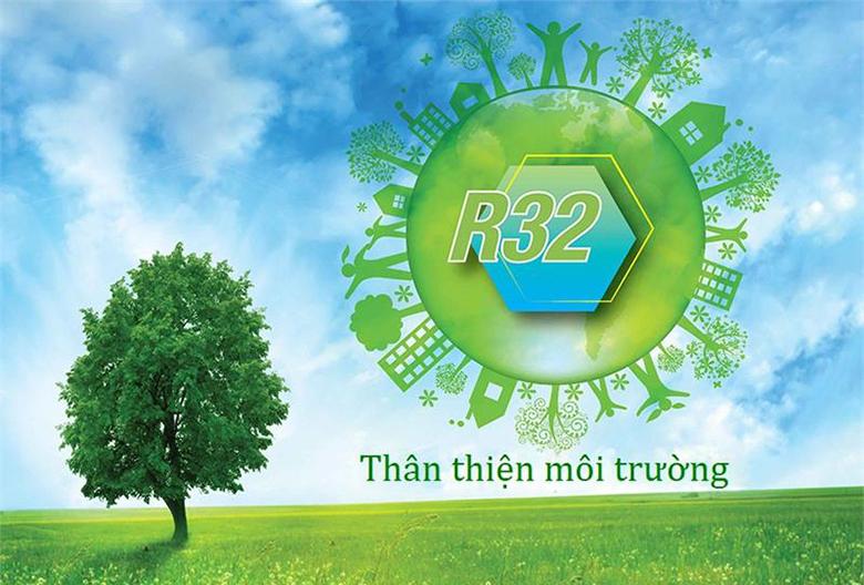 Sử dụng Gas R32 - Điều hòa Panasonic 1 chiều Inverter 12000BTU CU/CS-U12VKH-8