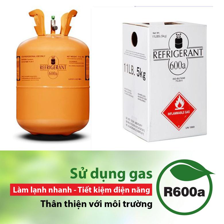 Tủ mát Sanaky 290 lít VH-358WL sử dụng gas R600a
