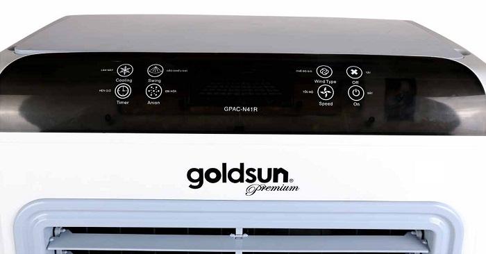 điểu khiển từ xa-quạt điều hòa Goldsun Premium GPAC-N41R