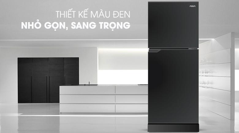 thiết kế nhỏ gọn - Tủ lạnh Aqua 130 lít AQR-T150FA BS