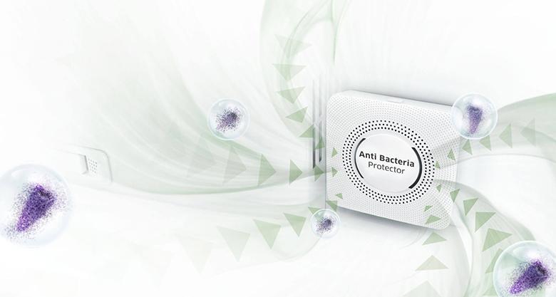 Anti-Bacterial -  công nghệ kháng khuẩn, khử mùi trên tủ lạnh Samsung