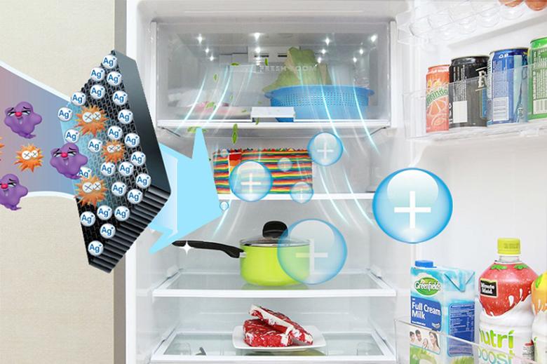 Silver Nano - công nghệ kháng khuẩn, khử mùi trên tủ lạnh Samsung