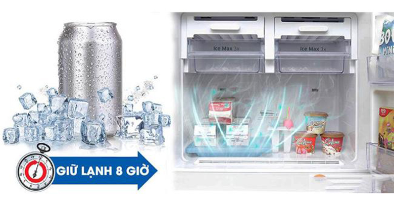 công nghệ Mr.Coolpack trên tủ lạnh Samsung giữ lạnh 8h