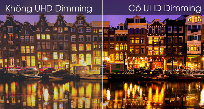 Công nghệ UHD Dimming - Smart Tivi Samsung 4K 43 inch UA43TU7000KXXV