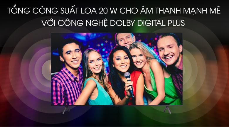 Trải nghiệm âm thanh mạnh mẽ - Smart Tivi Samsung 4K 50 inch UA50TU7000KXXV