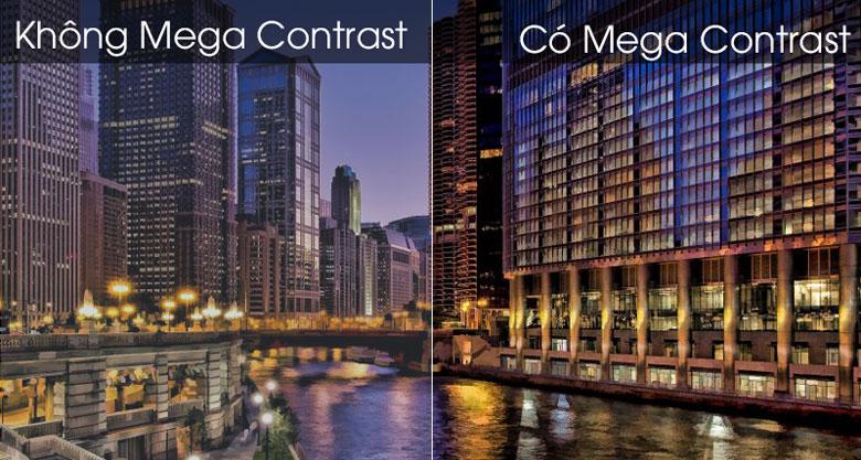 Công nghệ Mega Contrast - Smart Tivi Samsung 4K 43 inch UA43TU7000KXXV