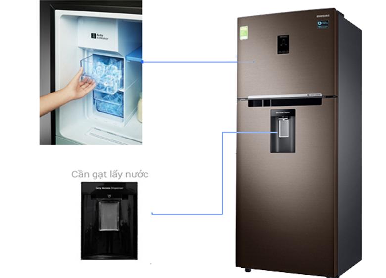 Lấy nước bên ngoài - Tủ Lạnh Samsung Inverter 360 lít RT35K5982DX/SV