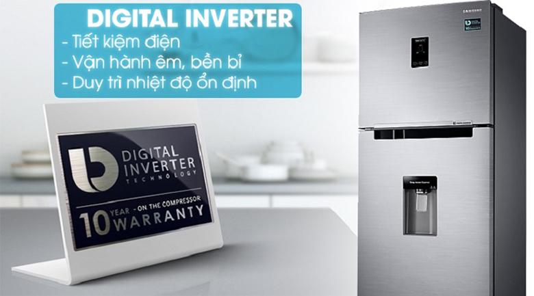 công nghệ inverter - Tủ lạnh Samsung Inverter 360 lít RT35K5982S8/SV Bạc