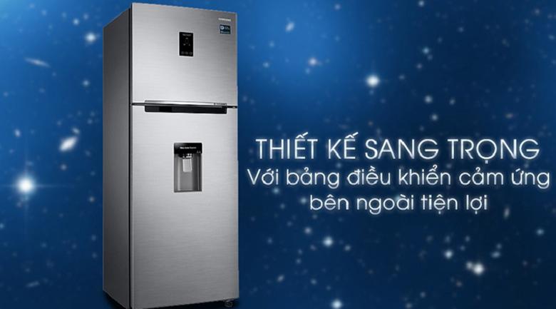 thiết kế sang trọng - Tủ lạnh Samsung Inverter 360 lít RT35K5982S8/SV Bạc