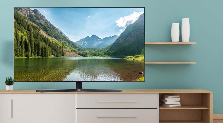 Nhắc đến Smart Tivi Samsung 4K 43 inch UA43TU8500KXXV bạn không thể bỏ qua về bề nhìn bên ngoài