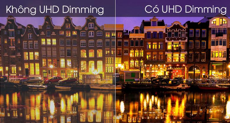 Kết hợp thêm công nghệ UHD Dimming Smart Tivi Samsung UA43TU8500KXXV ảnh càng chận thực hơn