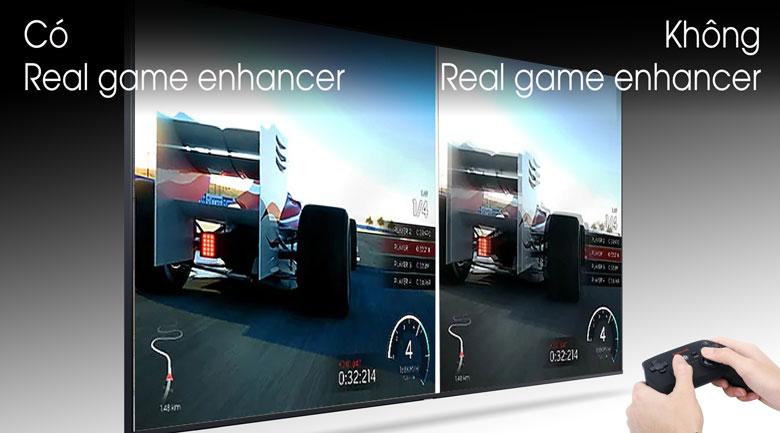 Không ngờ đến công nghệ Real game enhancer cho những người đam mê game - Smart 43TU8500 Tivi Samsung 43 inch