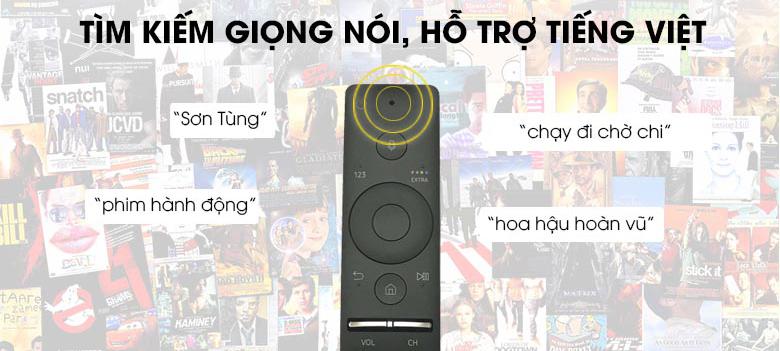 Điều khiển One Remote thông minh - Smart Tivi Samsung UA43TU8500KXXV 4K