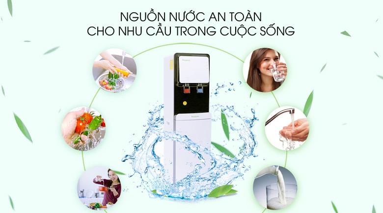 công nghệ làm lạnh-Máy lọc nước nóng lạnh Kangaroo KG61A3