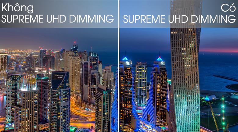 Công nghệ Supreme UHD Dimming đưa chúng ta đến với hình ảnh đẹp, chất lượng nhất - Smart 43Q65T Tivi QLED Samsung