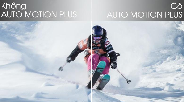 Công nghệ Auto Motion Plus - Smart Tivi QLED Samsung 4K 65 inch QA65Q65TAKXXV