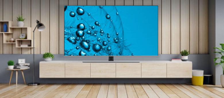 Thiết kế không viền - Smart Tivi QLED Samsung 4K 65 inch QA65Q70TAKXXV