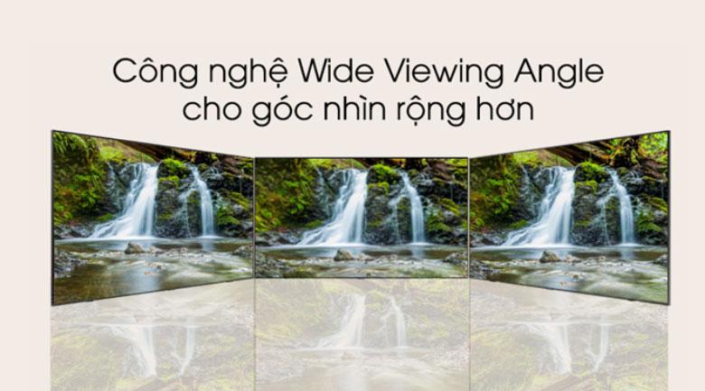 Công nghệ Wide Viewing Angle - Smart Tivi QLED Samsung 4K 65 inch QA65Q70TAKXXV