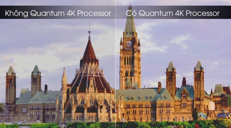 Bộ xử lý Quantum 4K - Smart Tivi QLED Samsung 4K 65 inch QA65Q70TAKXXV